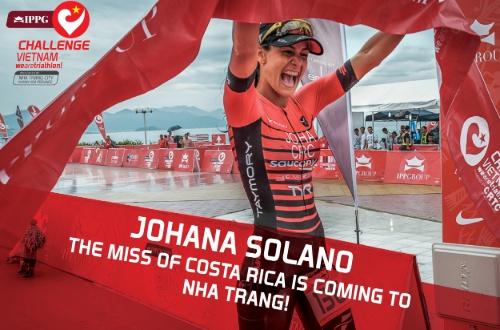 Johana Solano - Challenge Vietnam Triathlon